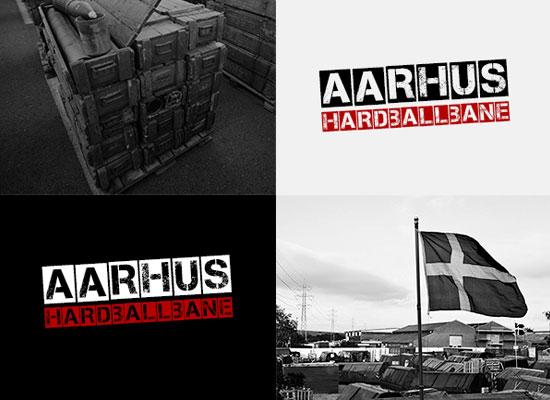 Billede af Aarhus Hardballbanes brand-identitet - branding og identitet