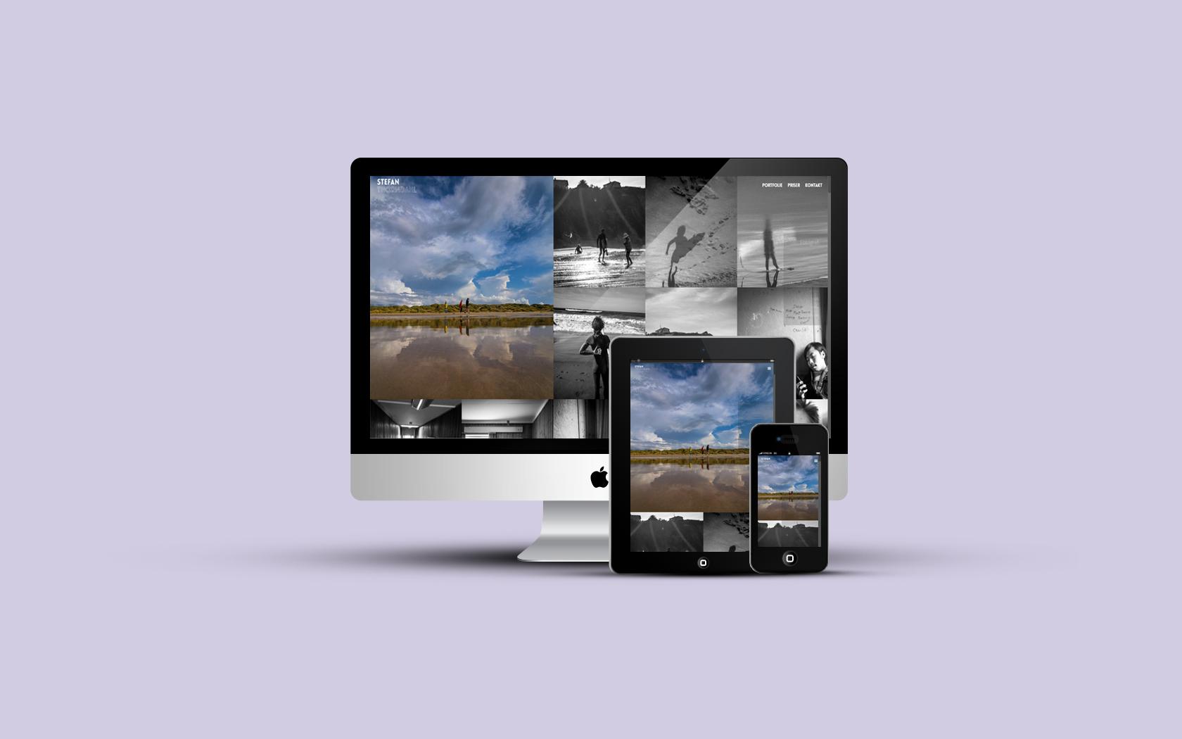 design og multimedier - hjemmeside